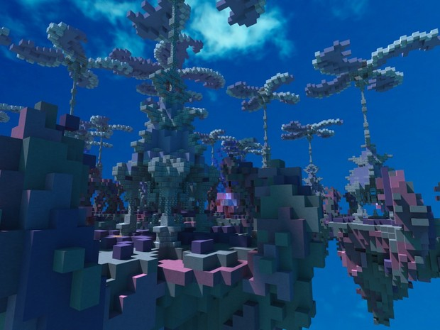 SkyWars map - Pink