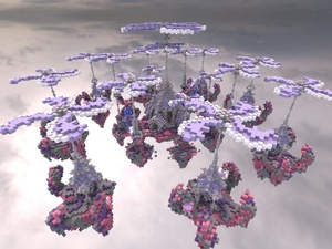 SkyWars map - Pink