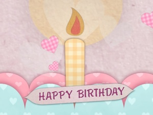 Blufftitler Template : Birthday - Style 01