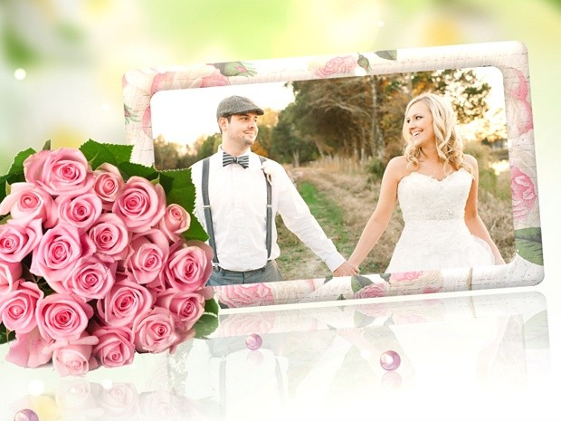 Blufftitler Template : Wedding Style 13
