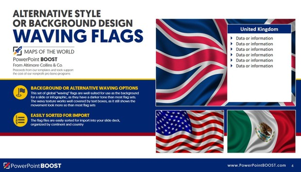 Flags of the World - PowerPoint Deck Tools