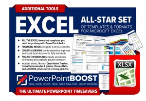 Excel All-Star Template Pack - PowerPoint Tools Bonus