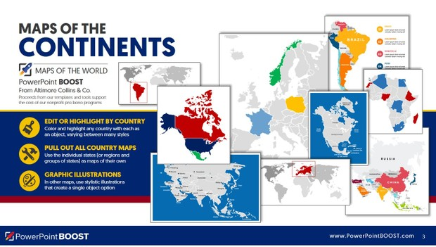 Maps of the World - PowerPoint Deck Tools