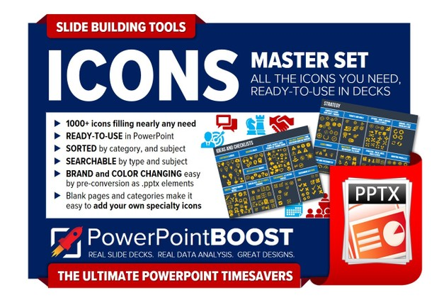 Master Icon Set - PowerPoint deck tools