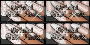 *VP* Bridal Nail Pack