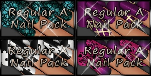 *VP* Regular A Nail Pack