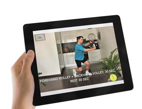 Tennis Workout At Home (Video Course)