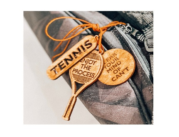 Tennis Lucky Charm