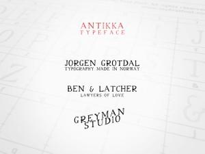 Antikka Typeface
