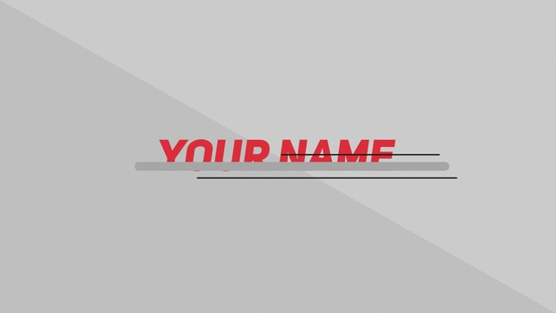 COOL 2D Intro Template - After Effects CS5 Template