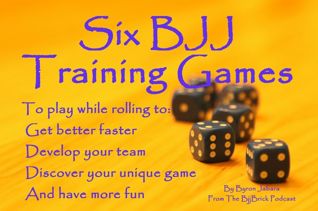 Six BJJ Training Games to Play While Rolling