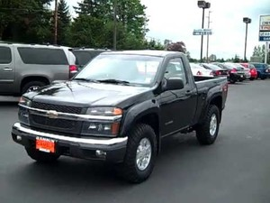 GMC Canyon - Chevrolet Colorado 2004 to 2006 Factory Service Workshop repair manual