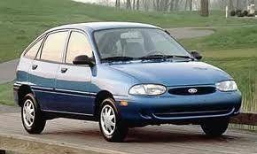 Ford Aspire 1993 1994 1995 1996 Factory service repair manual
