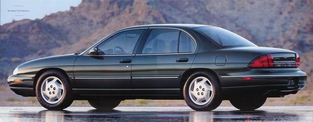 Chevrolet Lumina 1994 to 2002 Factory Service Workshop repair manual