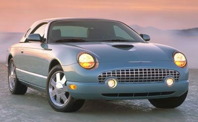 Ford Thunderbird 2002 2003 2004 2005 Factory SHop service repair manual
