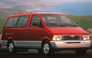 Ford Aerostar 1992 1993 1994 1995 1996 1997 Factory service repair manual