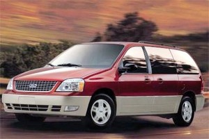 Ford Freestar - Mercury Monterey 2004-2007 Factory Service Workshop repair manual