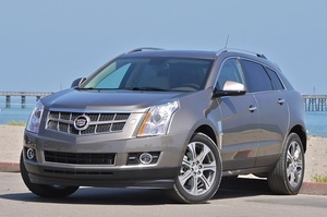 Cadillac SRX 2010 to 2012 Service Workshop repair manual