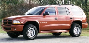 Dodge Durango 1997 to 2003 Factory Service Workshop repair manual