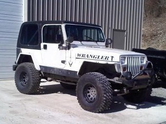 JEEP YJ Wrangler 1987 to 1995 PDF Factory service SHOP repair manual
