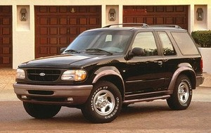 Ford Explorer - Mercury Mountaineer 1995-2001 Factory Service Workshop repair manual