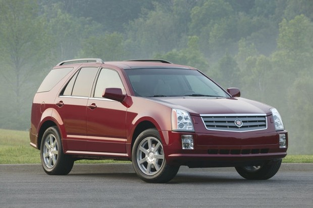 Cadillac SRX 2004 to 2009 Service Workshop repair manual