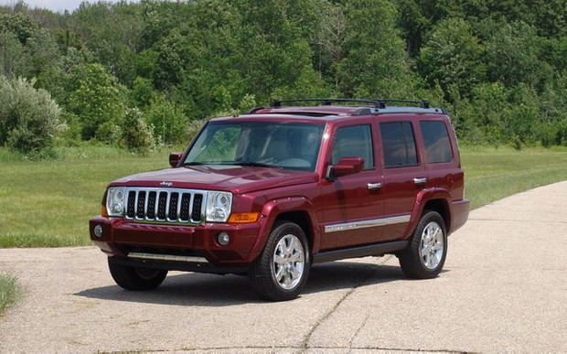 Jeep Commander XK 2006 2007 2008 2009 2010 Factory Service SHOP manual