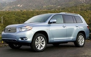 Toyota Highlander Hybrid 2008 2009 2010  Factory Workshop service repair manual