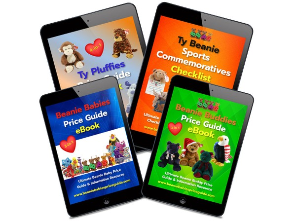 BEST DEAL! All Guides! Beanie Babies, Buddies, Pluffies Price Guides & Sports List COMBO PACK eBooks