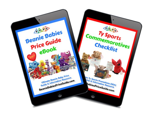 2021 Beanie Babies Price Guide eBook and FREE Sports Commemoratives Checklist eBook!