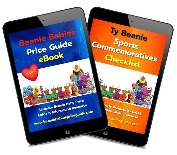 Beanie Babies Price Guide eBook 2020 plus FREE Bonus LIST of Beanie Babies Sports Commemoratives!