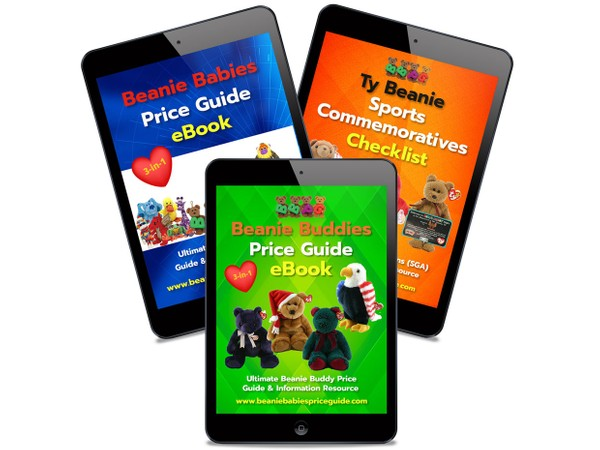 MOST POPULAR!  Beanie Babies & Buddies Price Guides & Sports Promo List COMBO PACK eBooks