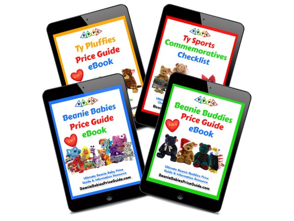 2021 BEST DEAL! All Price Guides Beanie Babies, Buddies and Pluffies,+ Sports List COMBO PACK eBooks