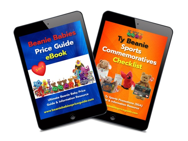 Beanie Babies Price Guide eBook plus FREE Sports Commemoratives Checklist eBook!