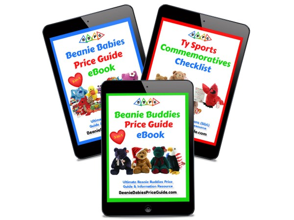 2021 MOST POPULAR!  Beanie Babies and Buddies Price Guides & Sports Promo List COMBO PACK eBooks