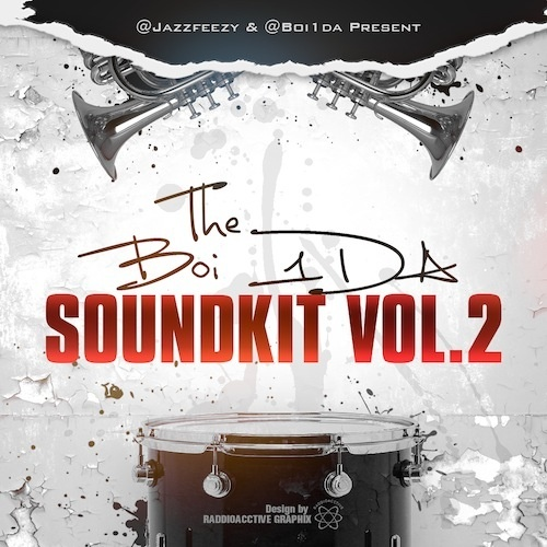 Official Boi-1da Sound Kit Vol. 1 & 2 (Donation Gift) [381MB]