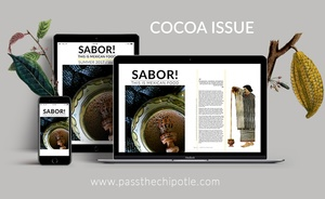 SABOR! This is Mexican Food. Cocoa Issue