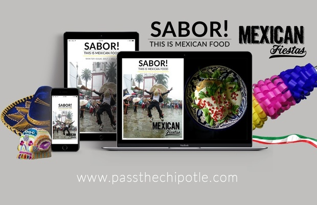 SABOR! This is Mexican Food. Mexican Fiestas Issue