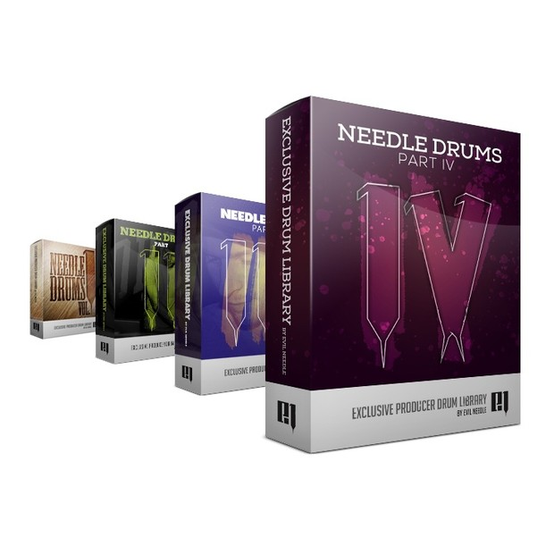 Evil Needle Drum Kit Bundle