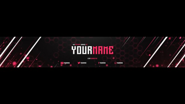 Youtube channel art template kadepetersgfx maxwellsz
