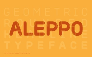 Aleppo Typeface