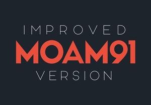 MOAM91 Typeface