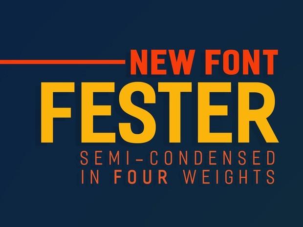 FESTER Typeface