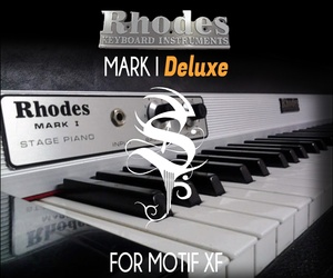 Rhodes Mark I Deluxe For Motif XF