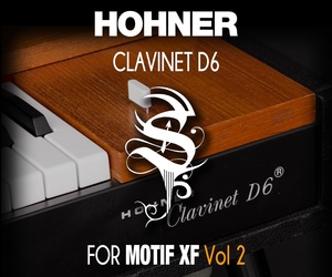 Clavinet D6 for MOTIF XF Vol 2