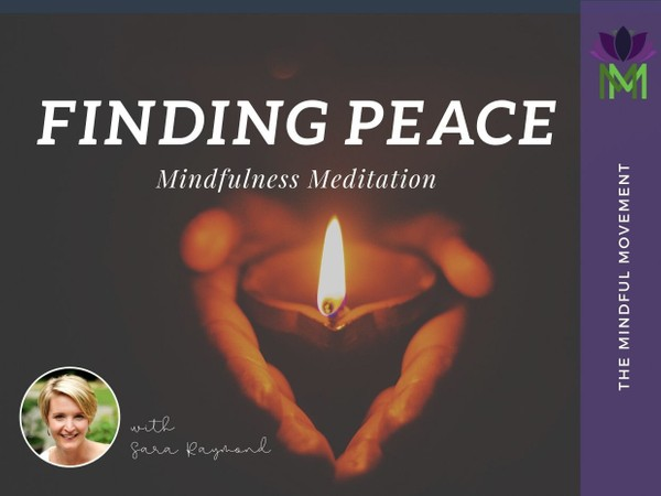 Being Present to Find Peace from within during Challenging Times
