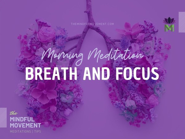 A 20 Minute Mindfulness Breath Meditation for Focus