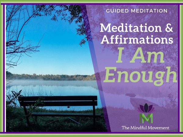 Create a Smile, Improve your Mood, Build Confidence / You are Enough Affirmations