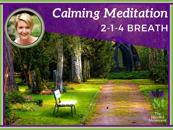 Calming Guided Meditation for Relaxing 2-1-4 Pattern