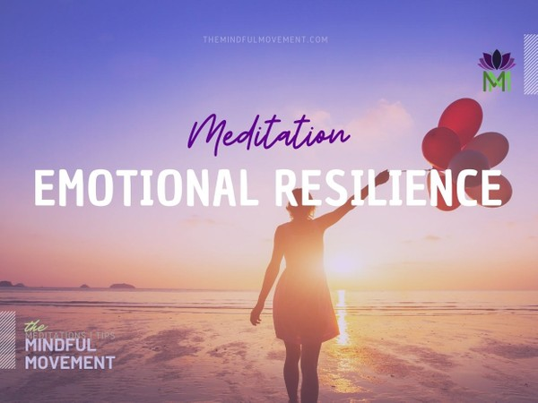 20 Minute Guided Meditation to Build Emotional Resilience -- Experience Inner Peace and Clarity